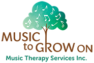 Music To Grow On – Music Therapy Services: Sacramento, CA Logo